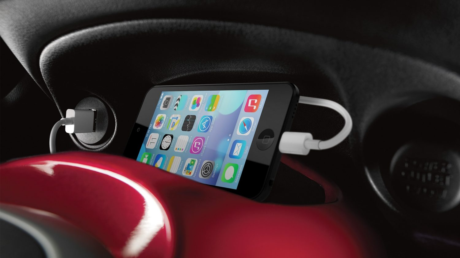 Nissan JUKE – Nissan Connect, smartphone og MP3