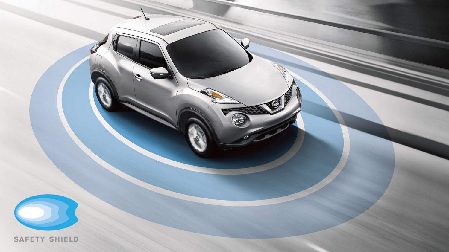 Ilustración de Safety Shield de Nissan JUKE