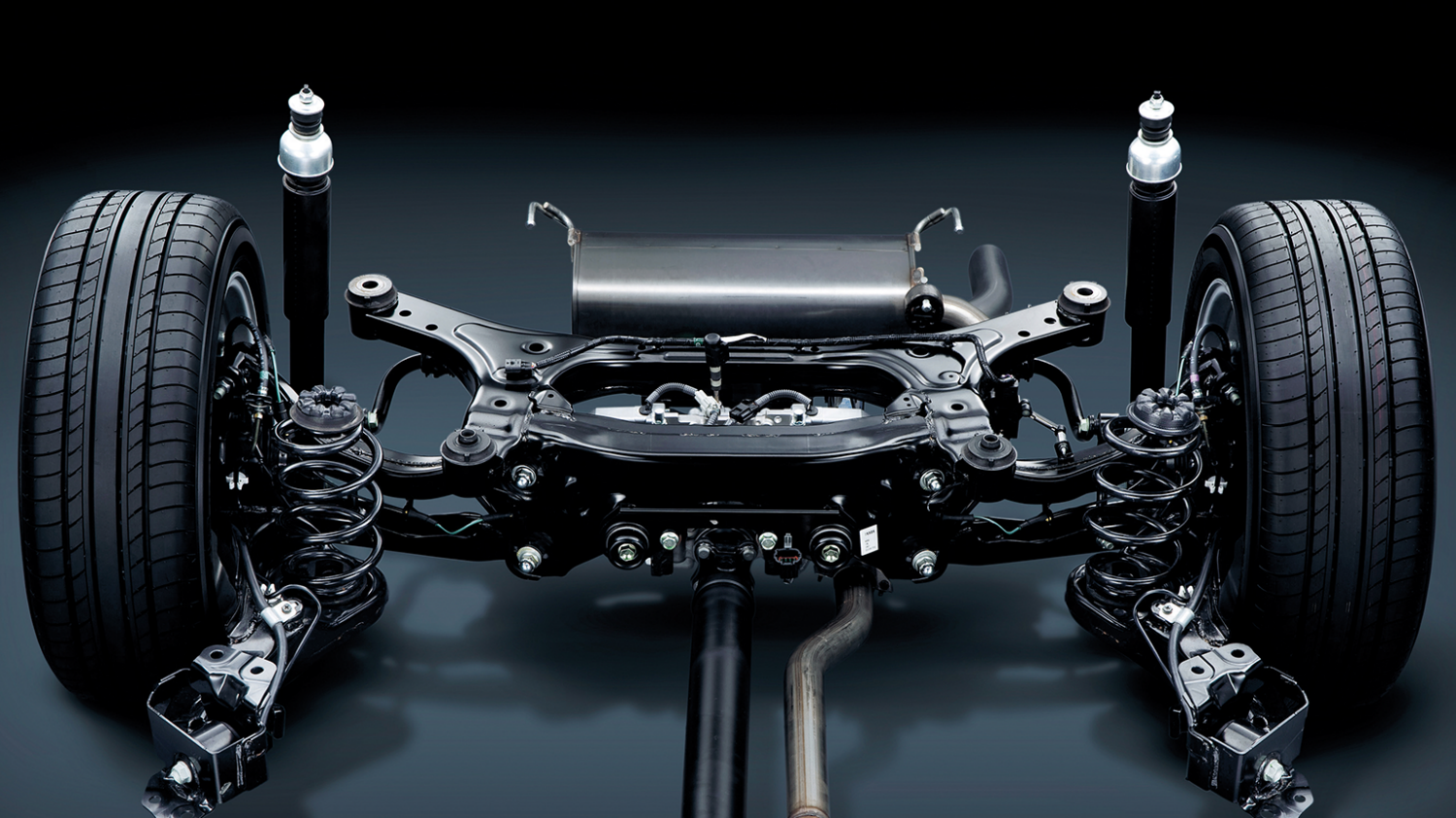 Nissan Juke | Multi-link rear suspension
