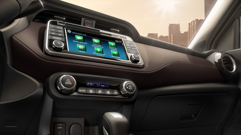 Nissan Kicks instrumentation panel detail