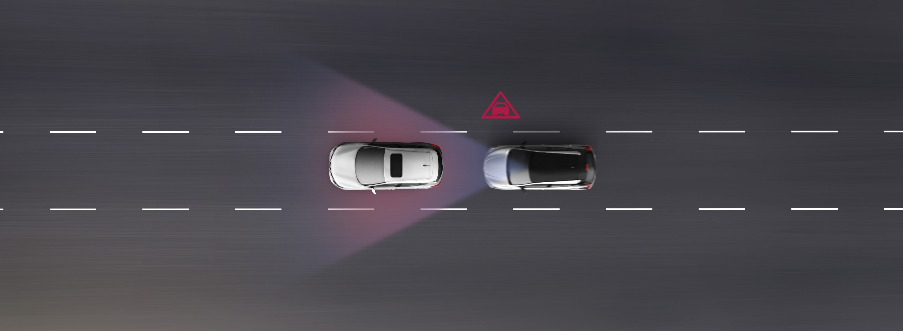 New Nissan LEAF Intelligent Emergency Braking animation