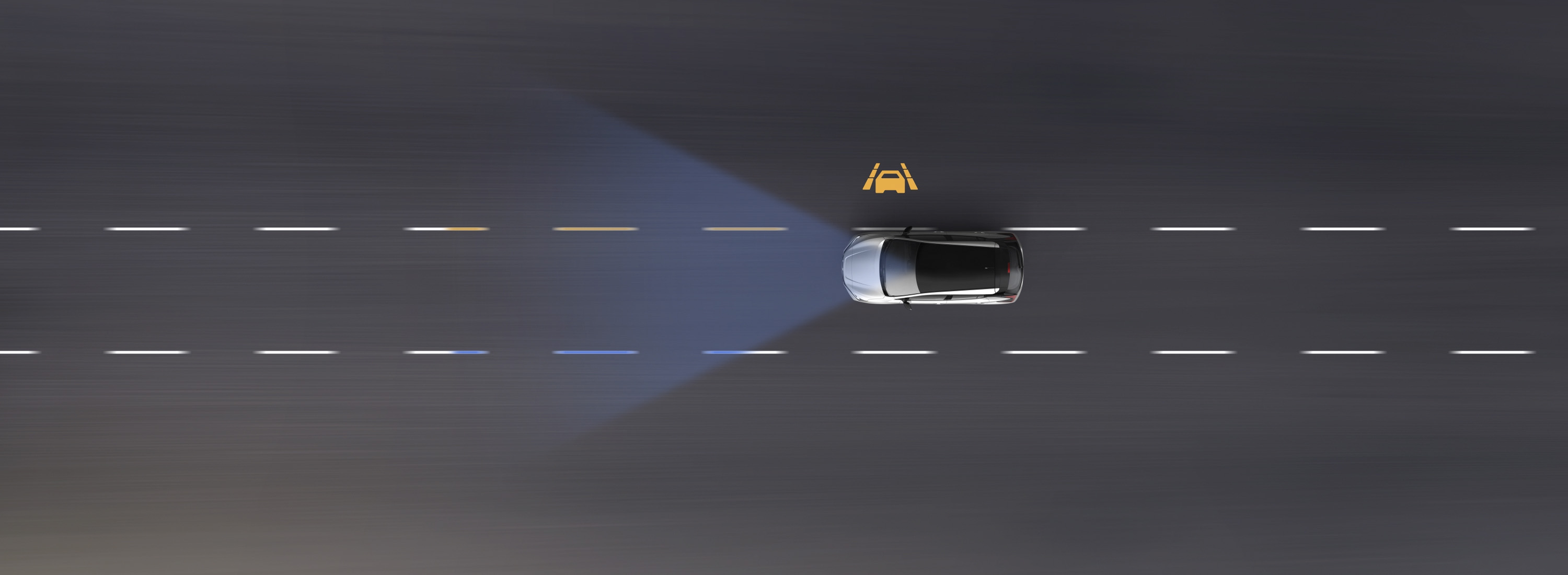 New Nissan LEAF Intelligent Lane Intervention animation