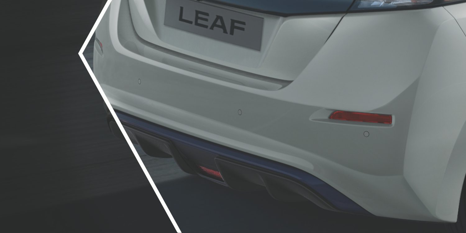 Nissan LEAF rear diffuser