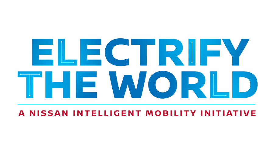 Electrify the world logo