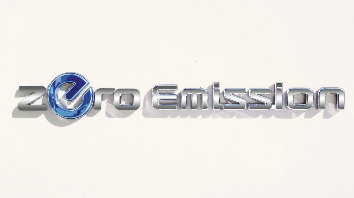 Nissan LEAF - Zero Emission-badge