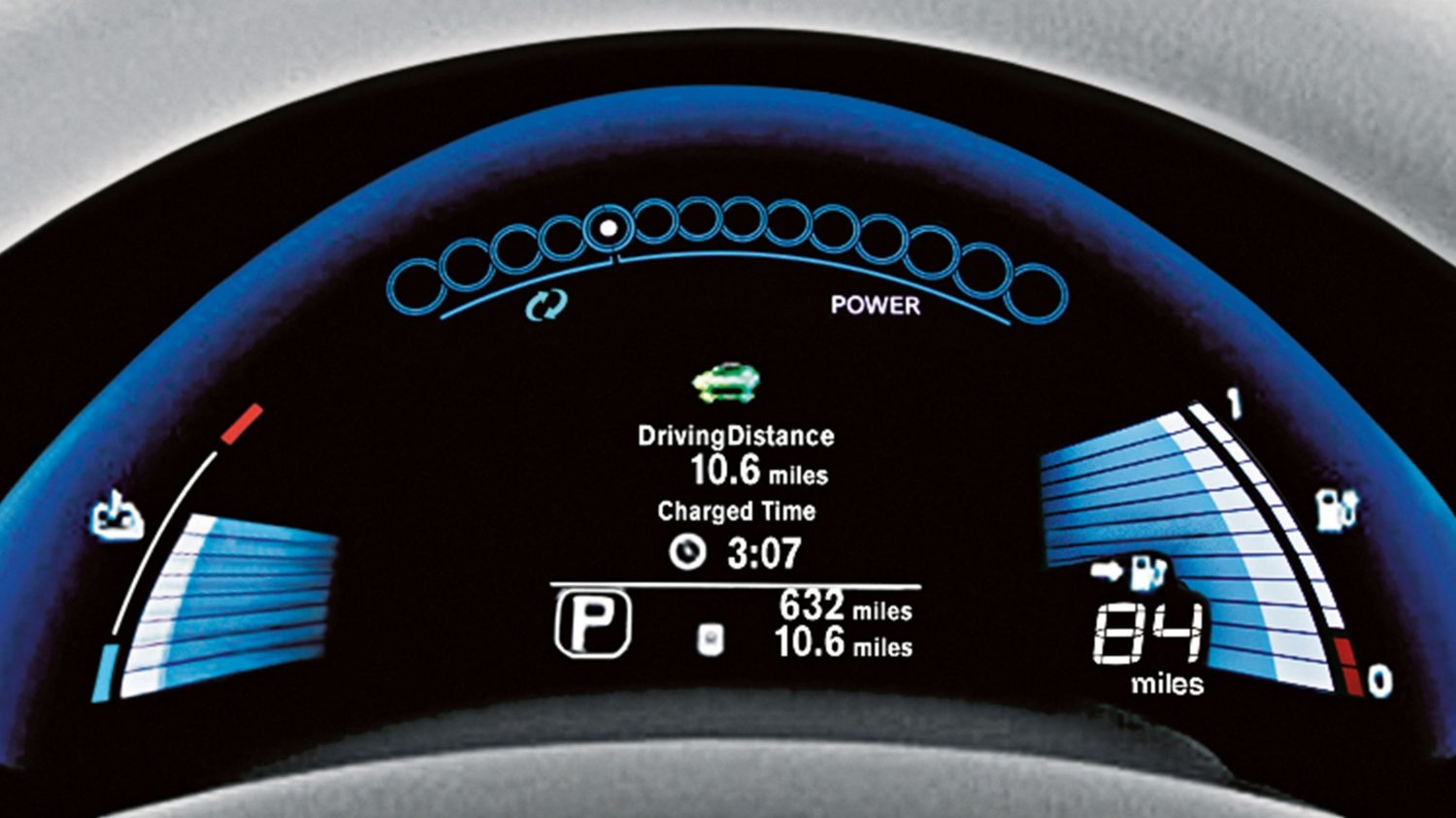 Nissan LEAF | Dashboard display