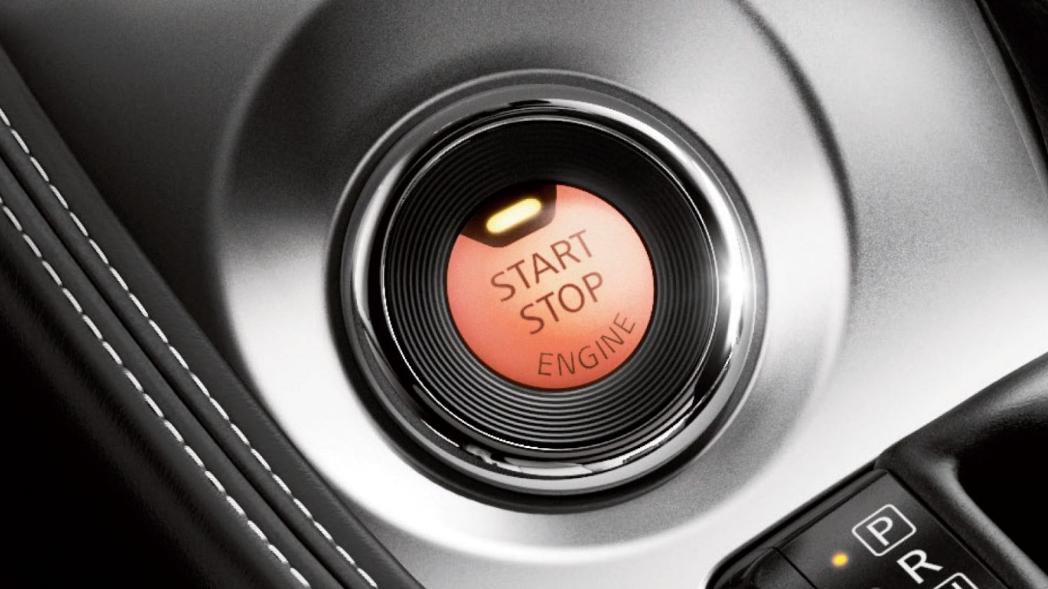 Push Button Ignition Detail