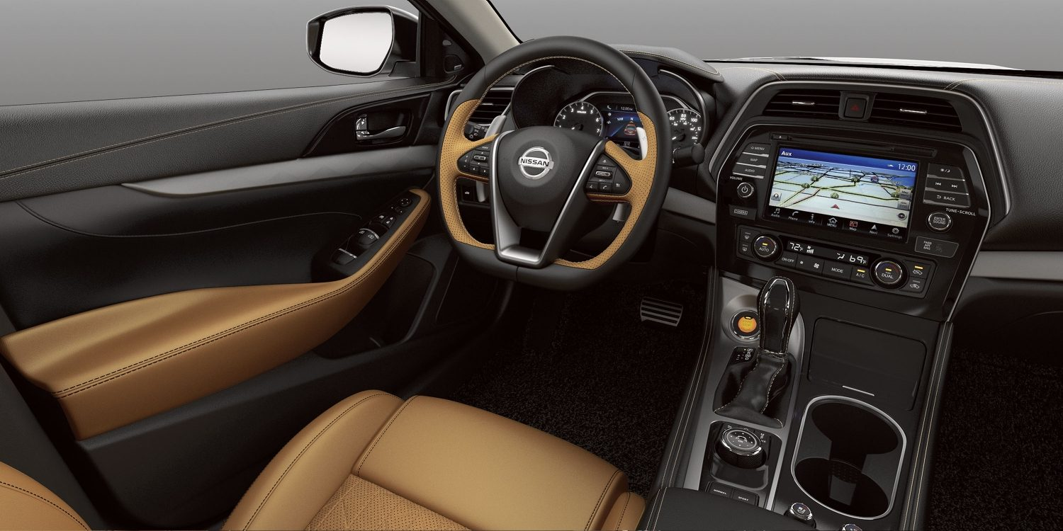 2018 Maxima Design Aerodynamic Luxury Sedan Nissan Usa