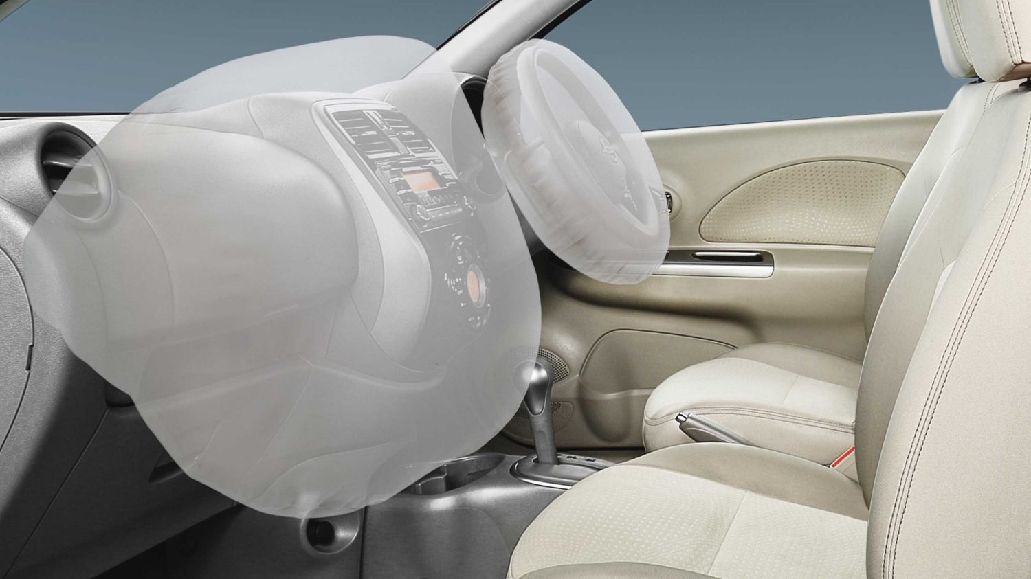 Nissan Micra front and side airbags