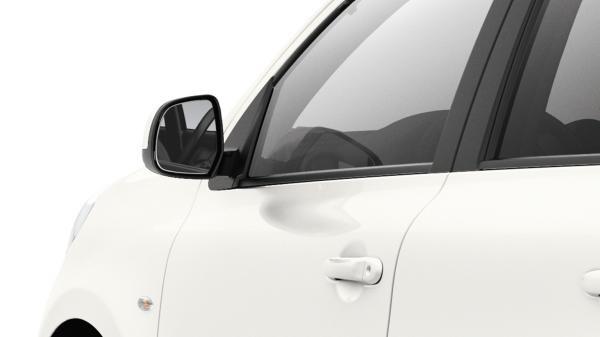 Power-adjustable side mirror