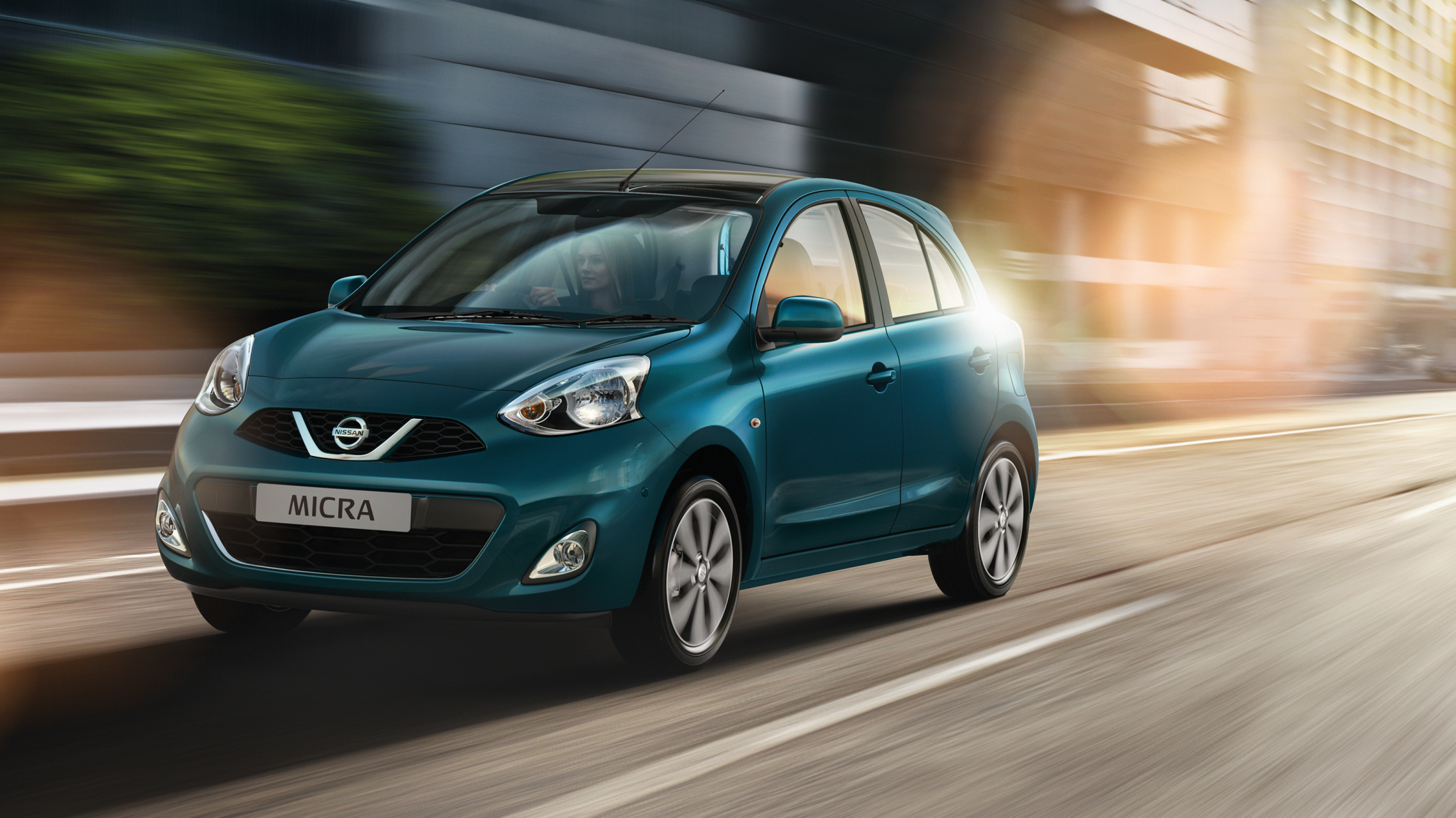 Nissan Micra | City car on the road