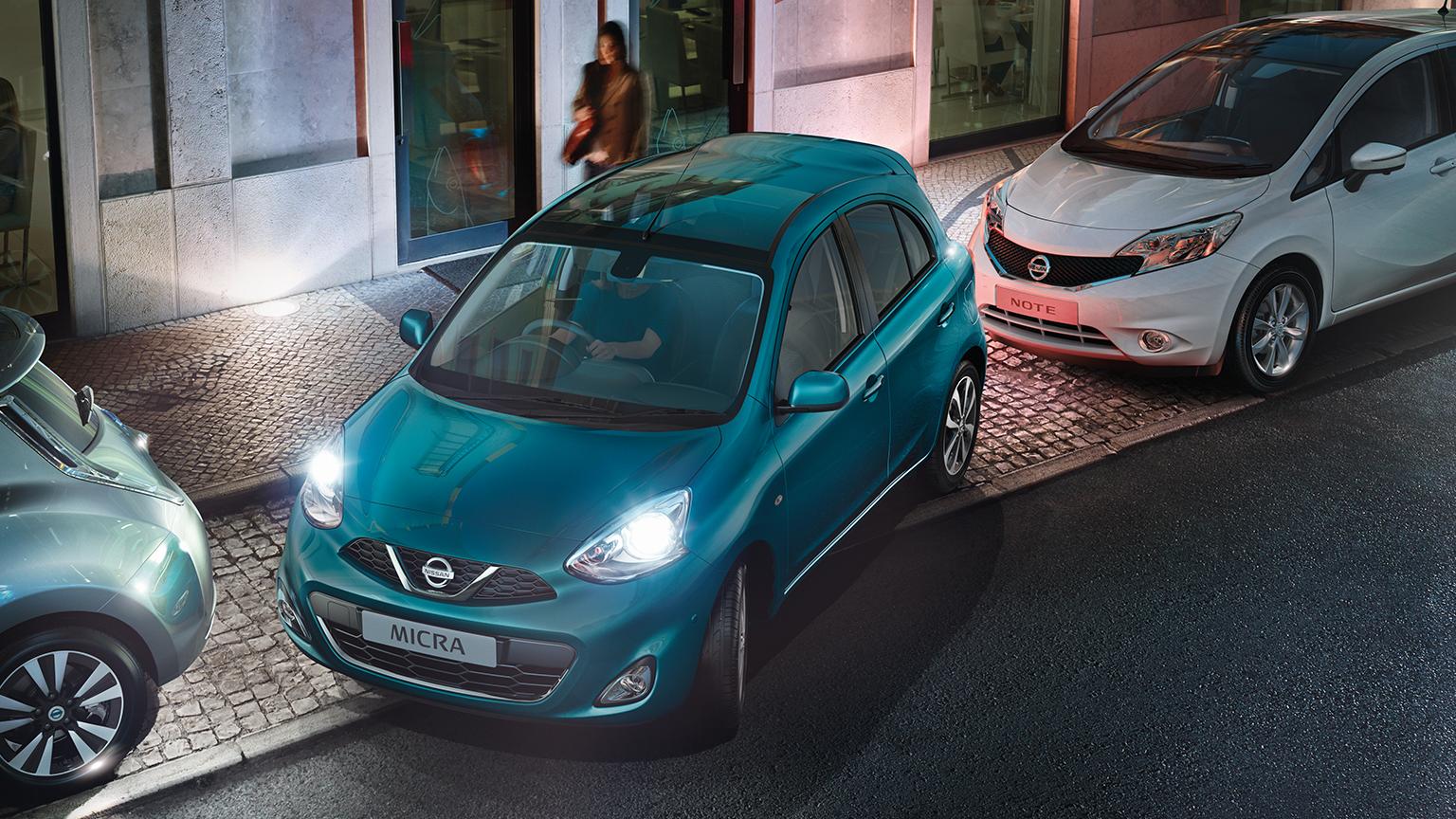 Nissan Micra | Rear parking sensors