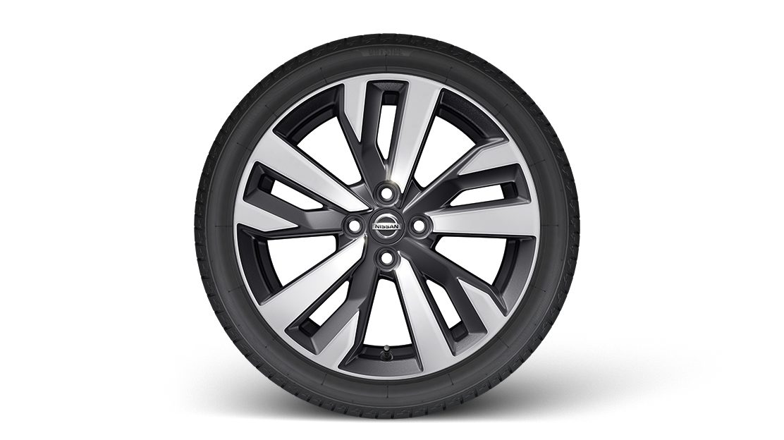 "Nissan Micra 17"" Perso Wheel with Center cap Black"