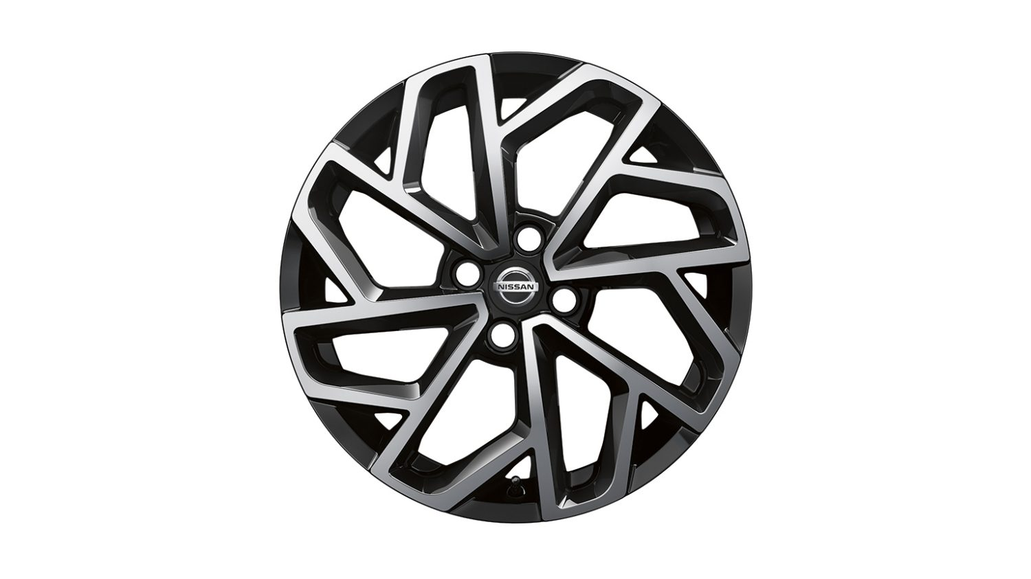 "New Nissan Micra 17"" alloy wheel sculpted"