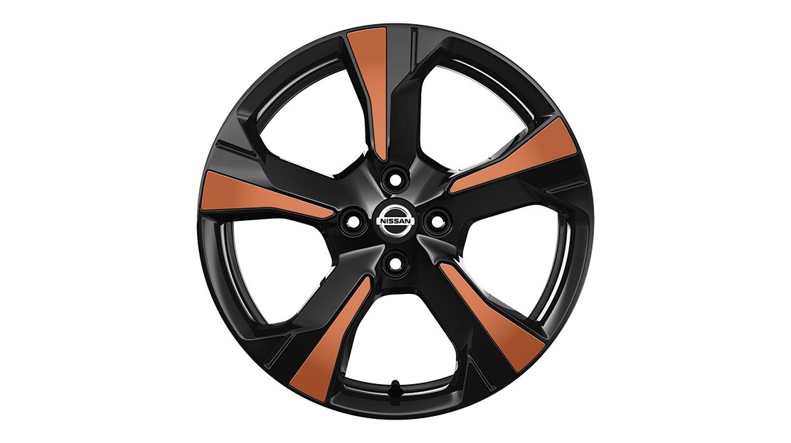 Nissan Micra Inserts for Xeno Wheel Energy Orange