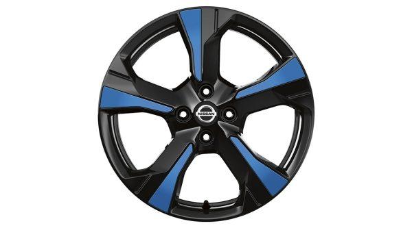 Nissan Micra Ukrasni umetci za naplatke Xeno, Power plava