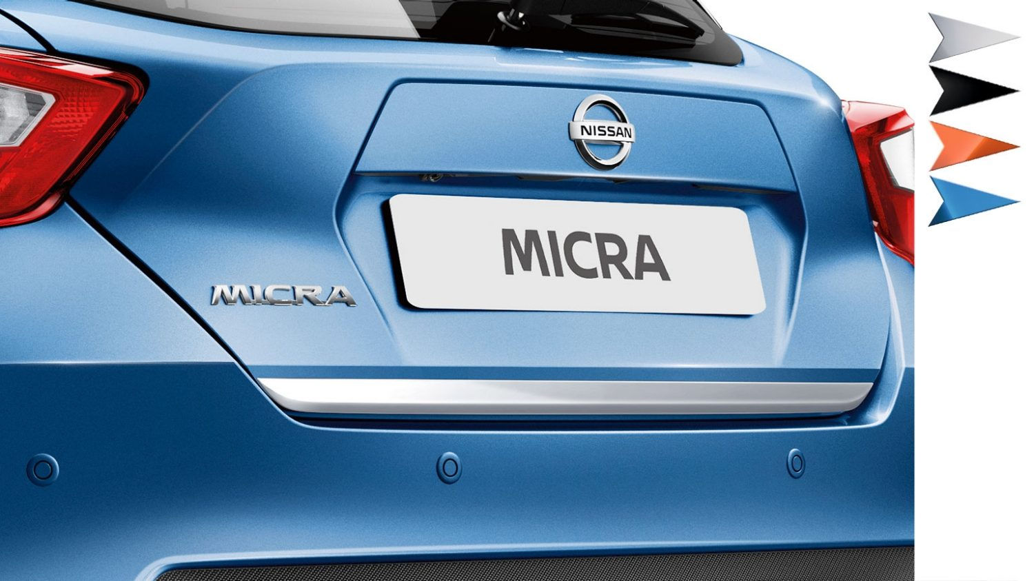 Nissan Micra Design Studio Trunk Lower Finisher
