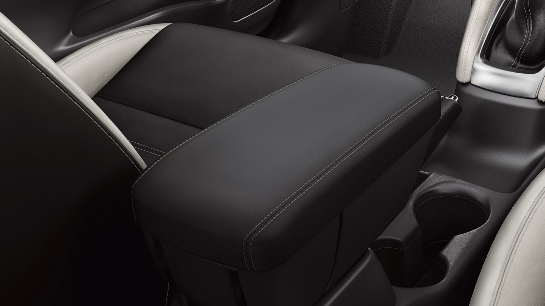 Nissan micra armrest leather beige