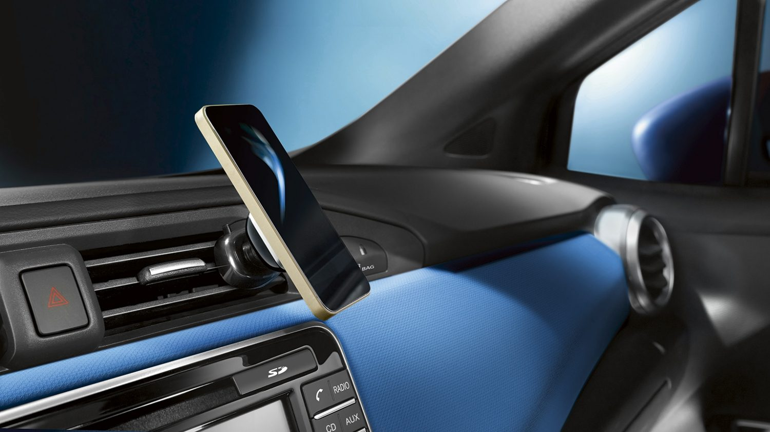 Nissan Micra Smartphone Holder Magnetic Mount