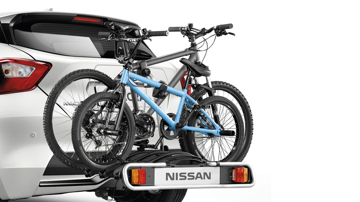 Nissan Micra Bike Carrier Foldable 3 Bikes