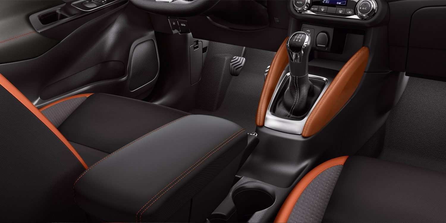New Nissan Micra Orange Interior