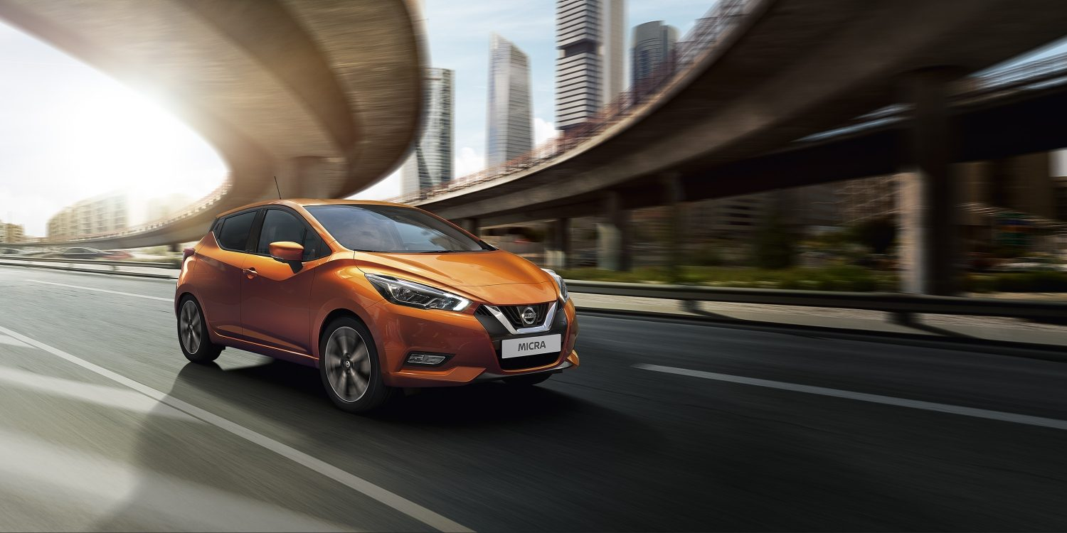 Design exterior do Nissan MICRA