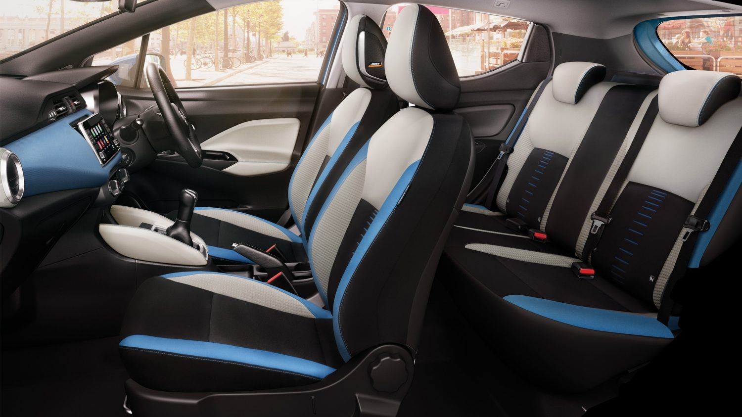 Micra Large Profile Interior Power Blue