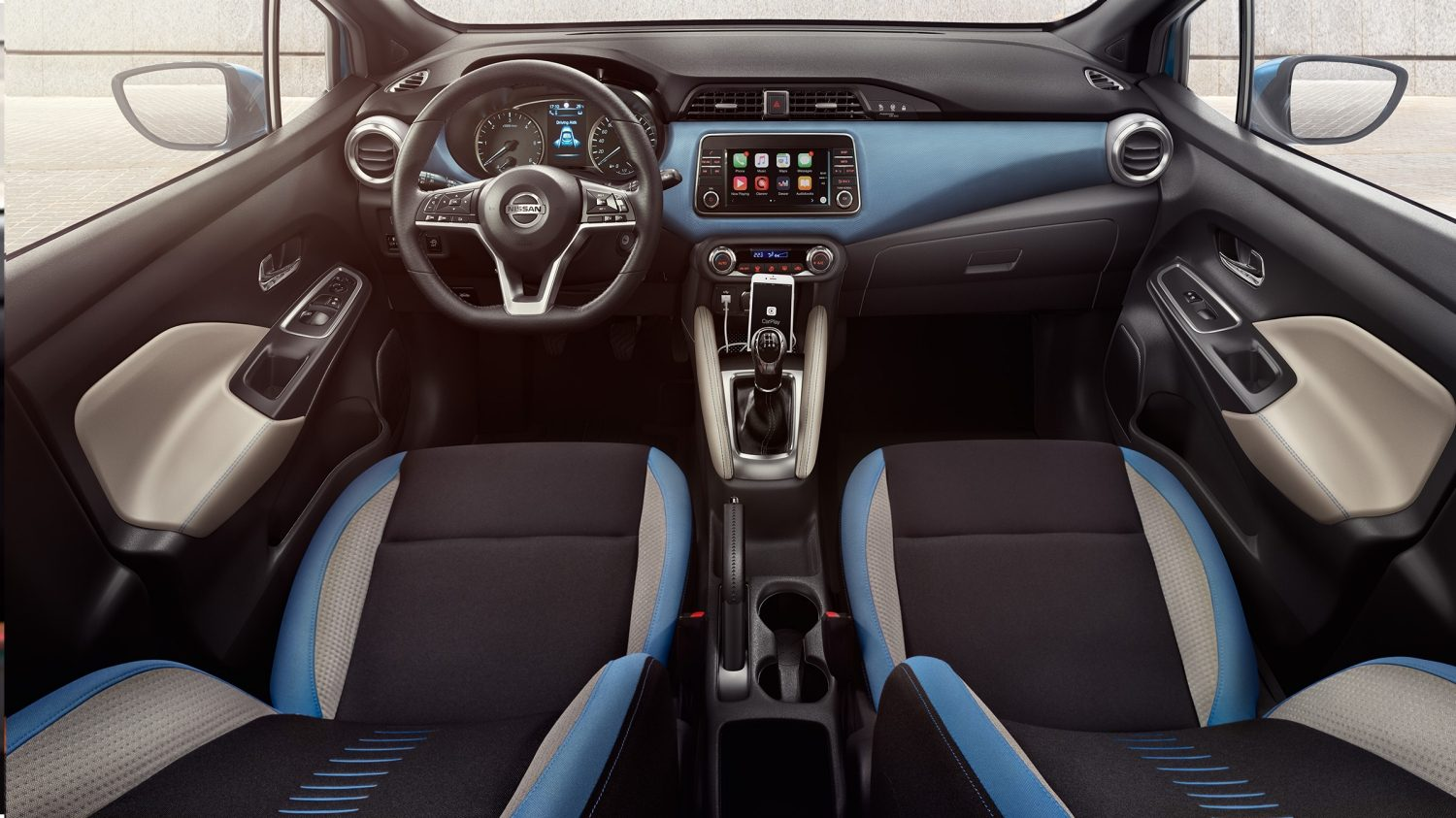Interior Pack Power Blue Nissan MICRA