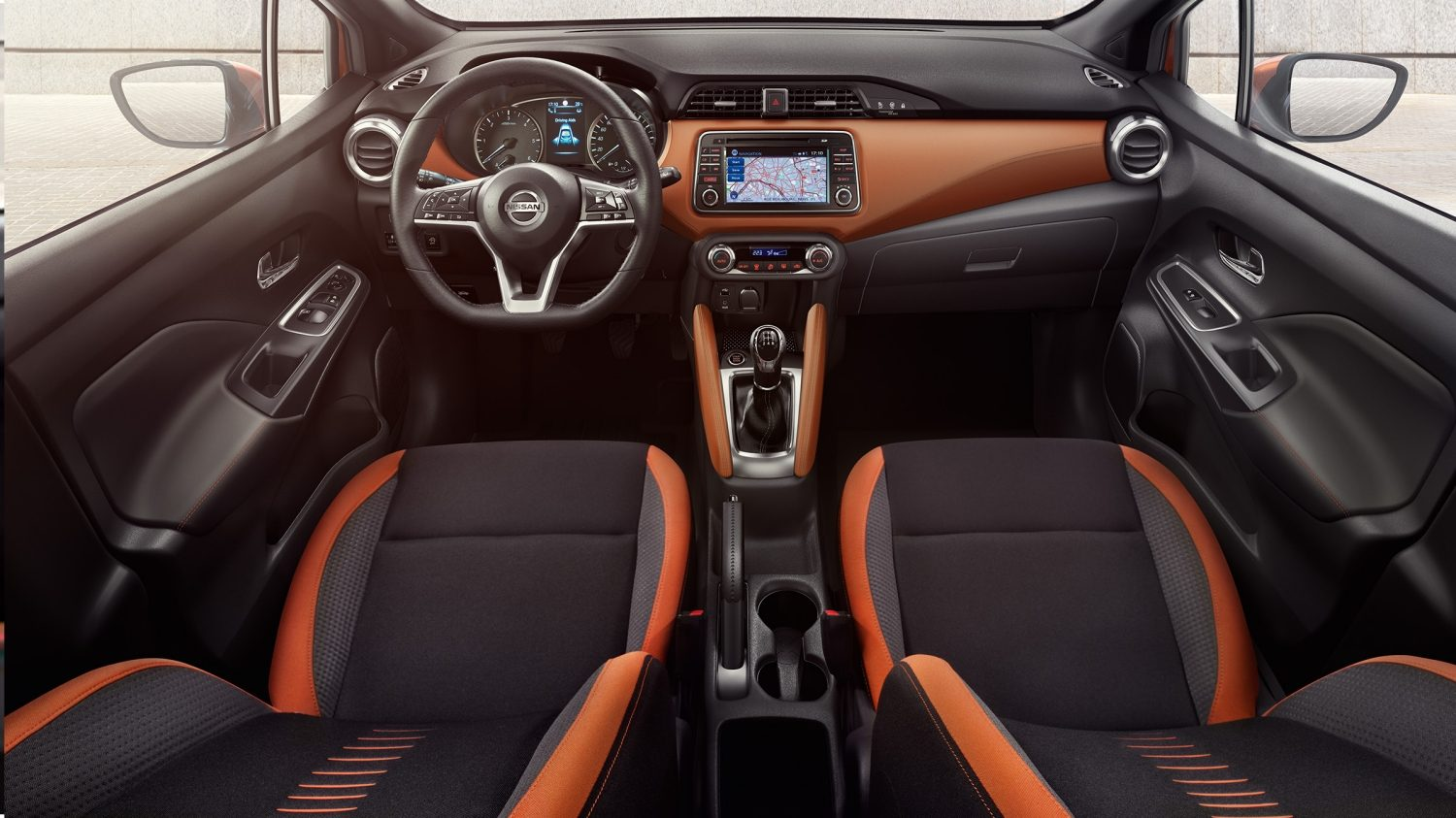 Nissan Micra PACK INTÉRIEUR ENERGY ORANGE