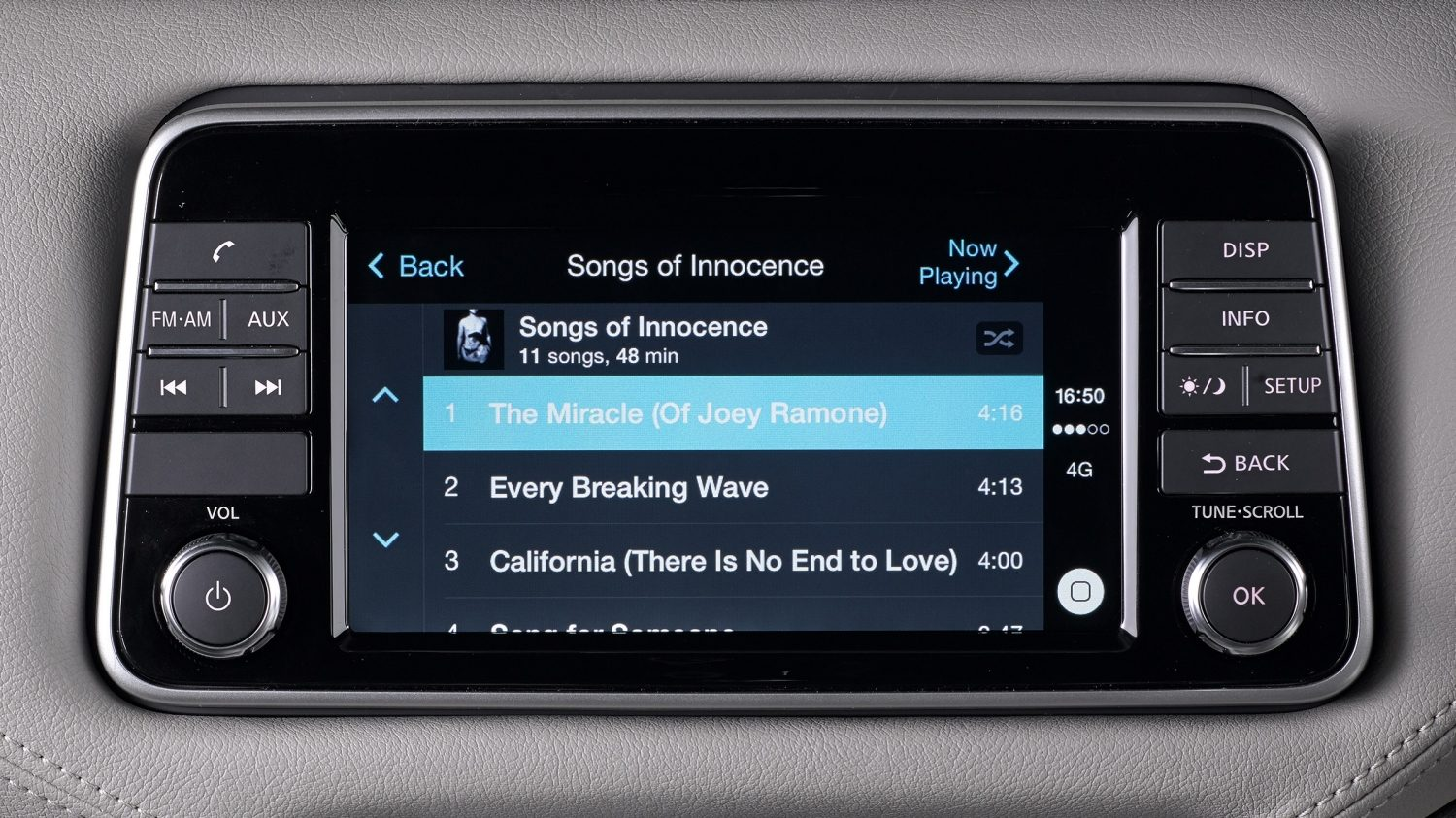 Nissan MICRA: Apple Carplay, biblioteca musical