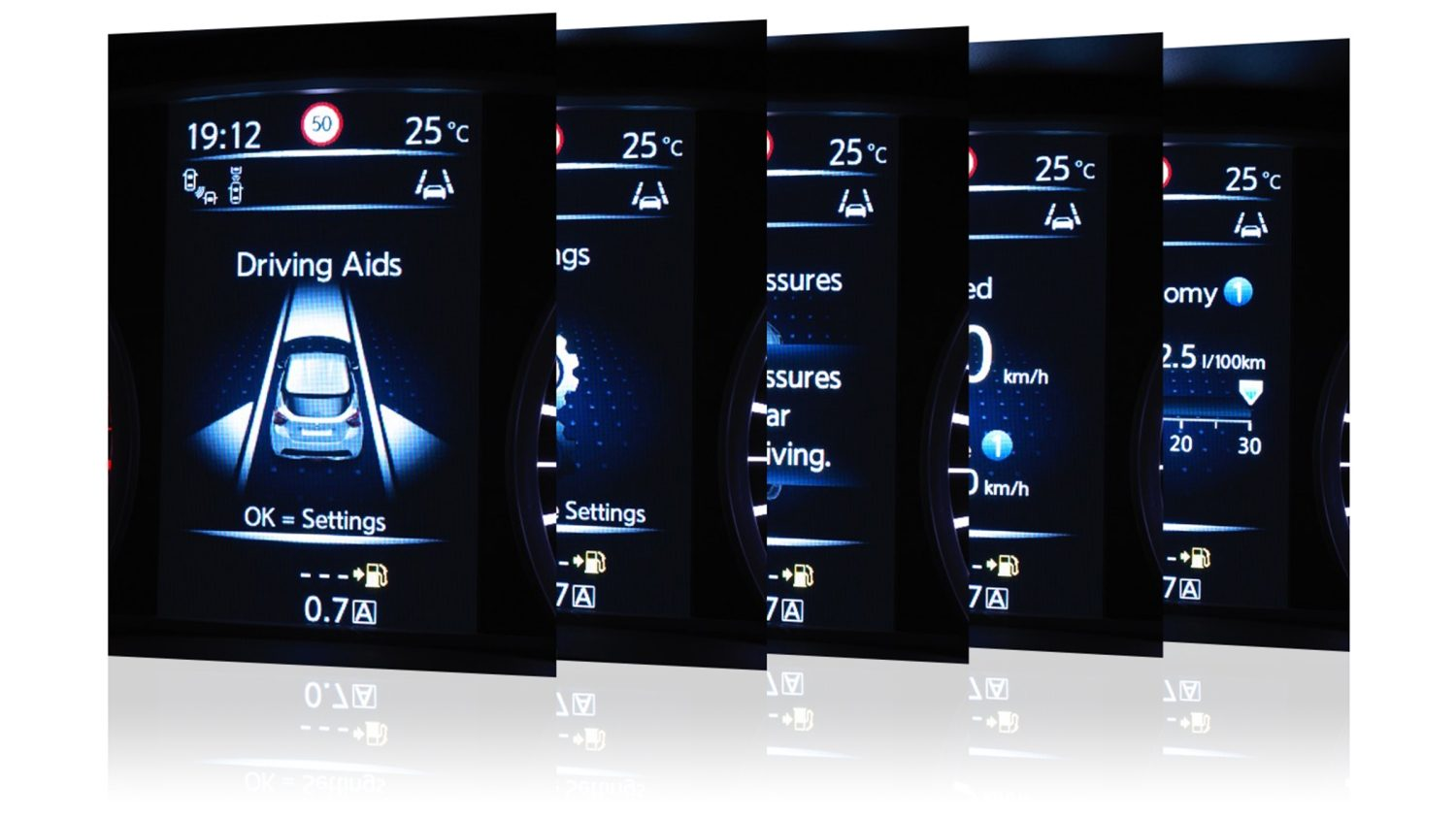 MICRA Advanced Drive Assist Display