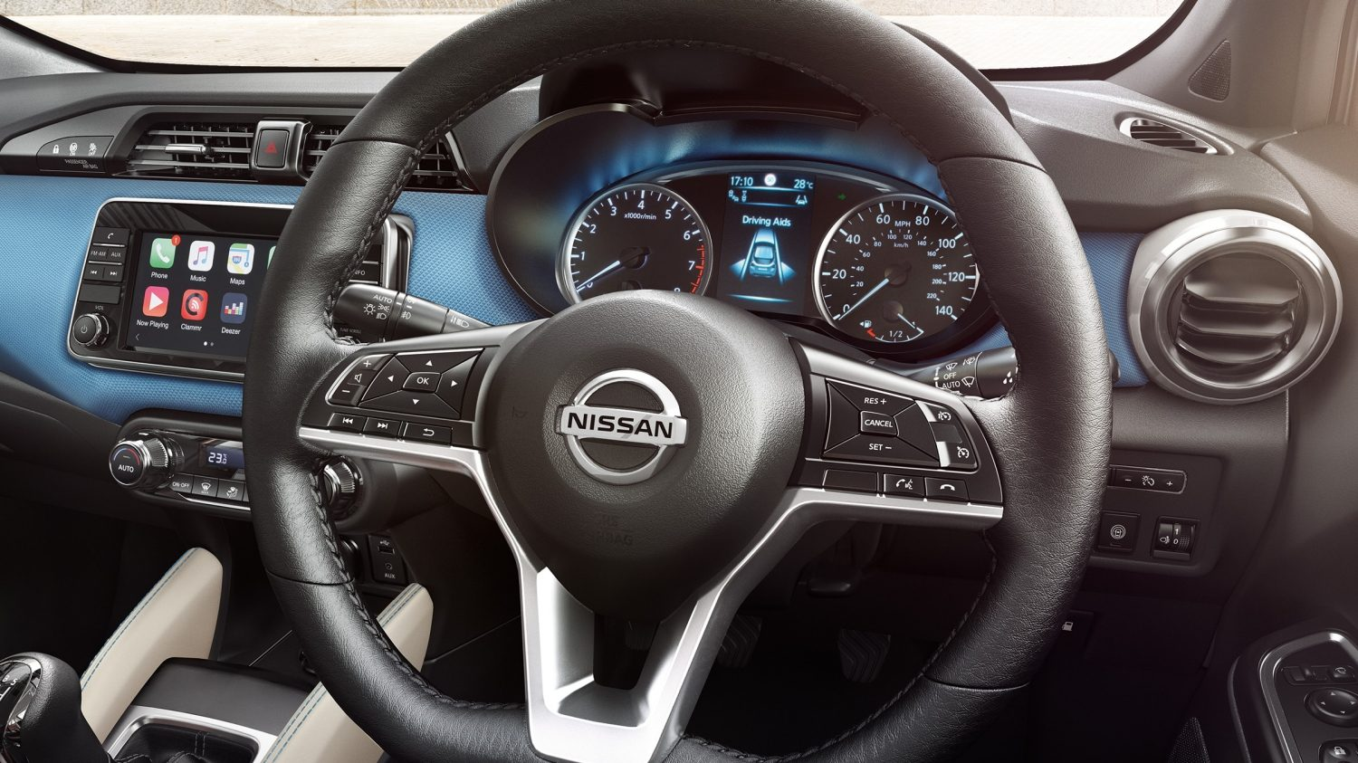Micra D-Shaped Steering Wheel