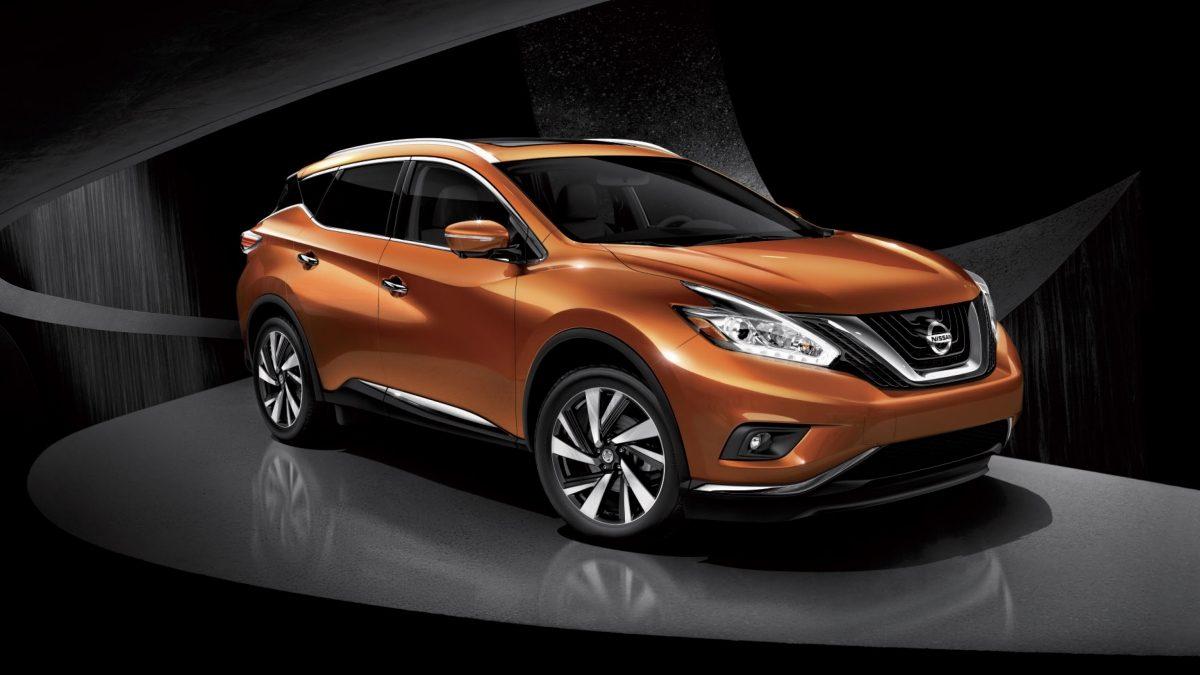 Nissan murano 3 4 front