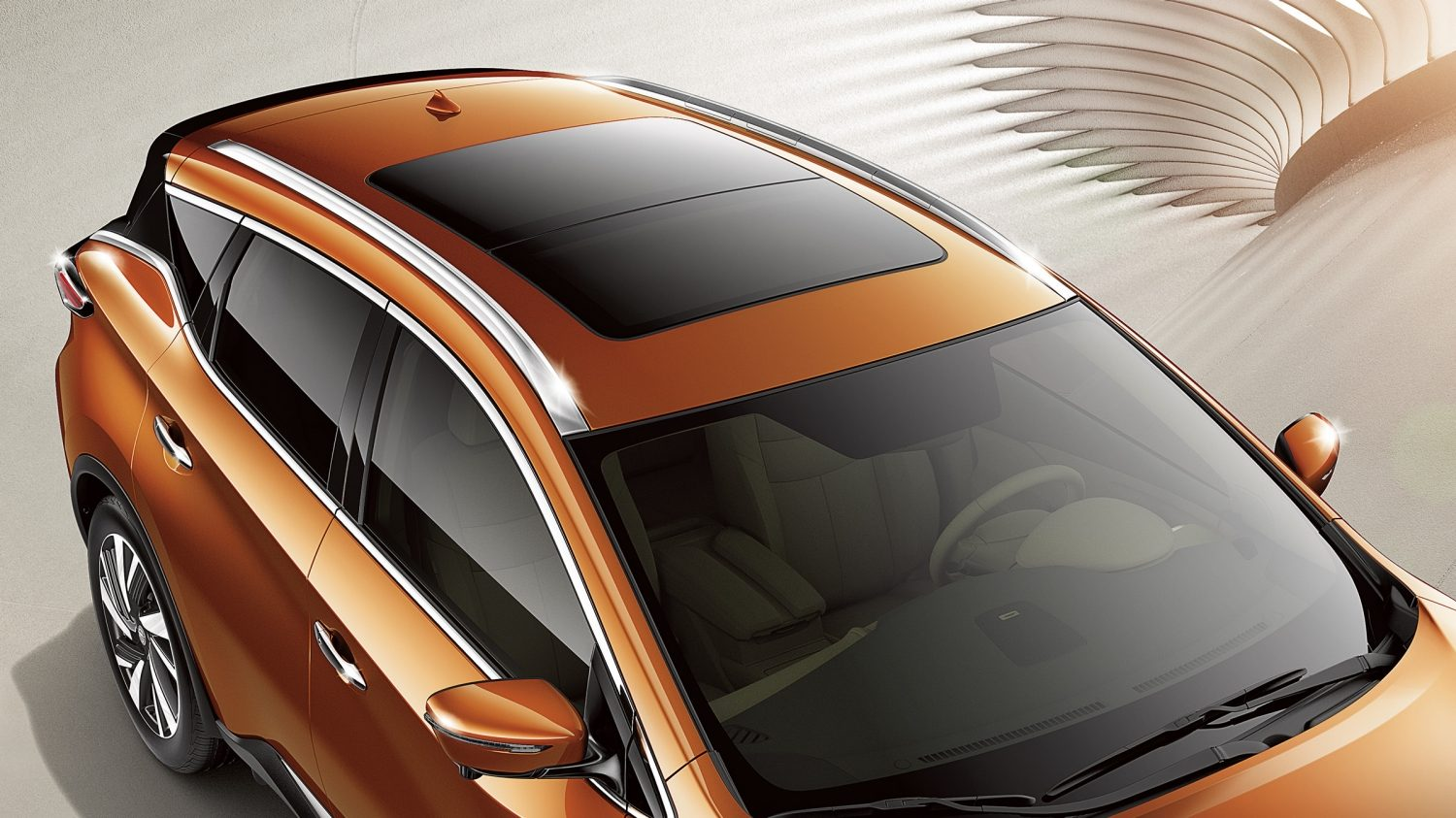 """Moonroof"" de Nissan Murano"