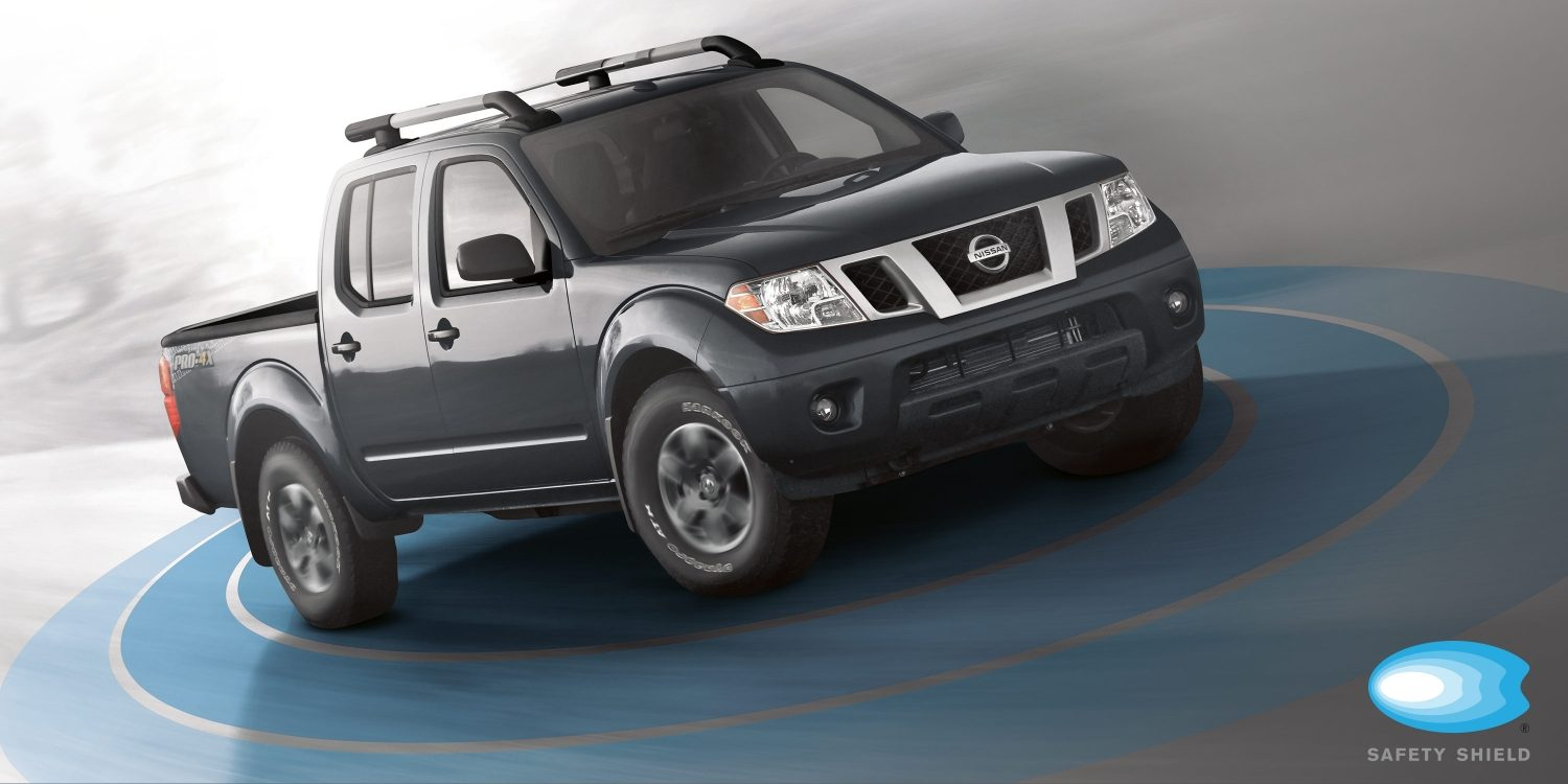Ilustración de Safety Shield para Nissan Frontier