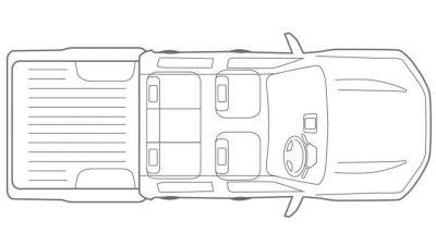 Imagen del vehículo desde lo alto