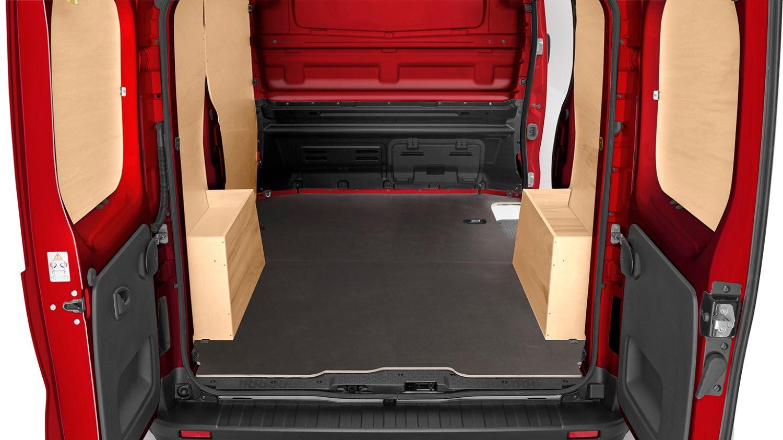 #BC0D14 Nissan NV300 Chão em madeira resistente antideslizante 454 Janelas Duplas Aluminio