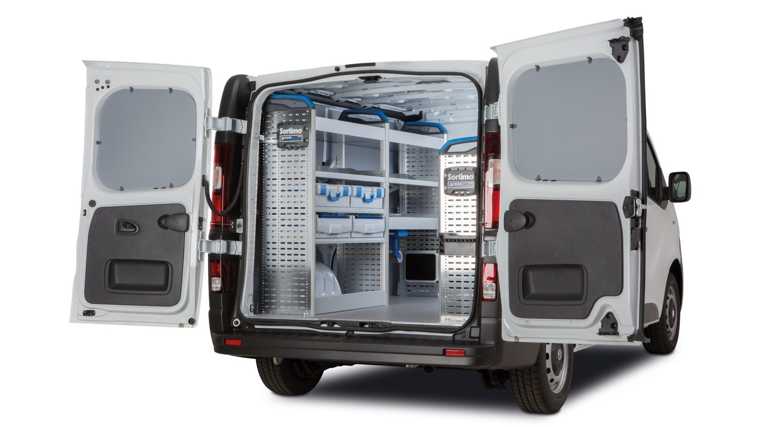 NV300 OVERVIEW - MOBILE WORKSHOP ELECTRICIAN PACKSHOT