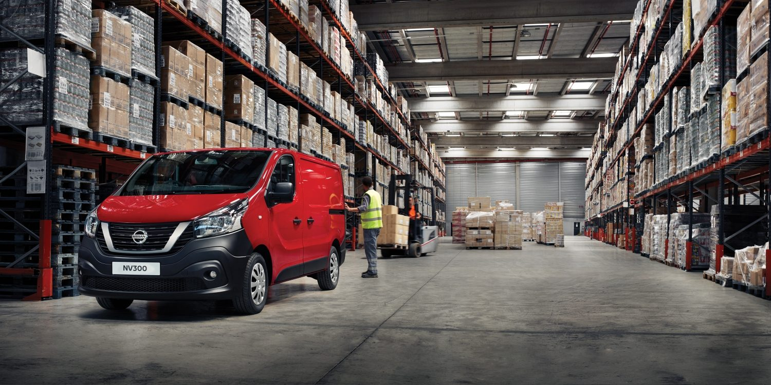 NV300 WAREHOUSE PANEL VAN