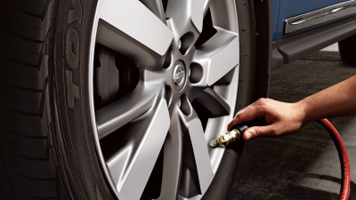 TPMS with Easy-Fill Tyre Alert