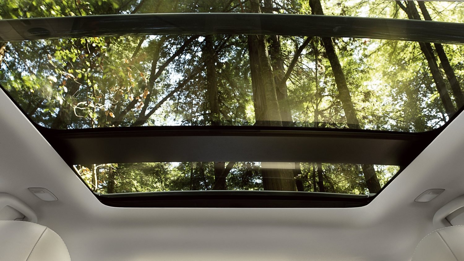 Nissan Pathfinder dual panel moonroof
