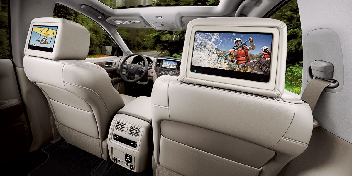 Nissan Pathfinder entertainment system
