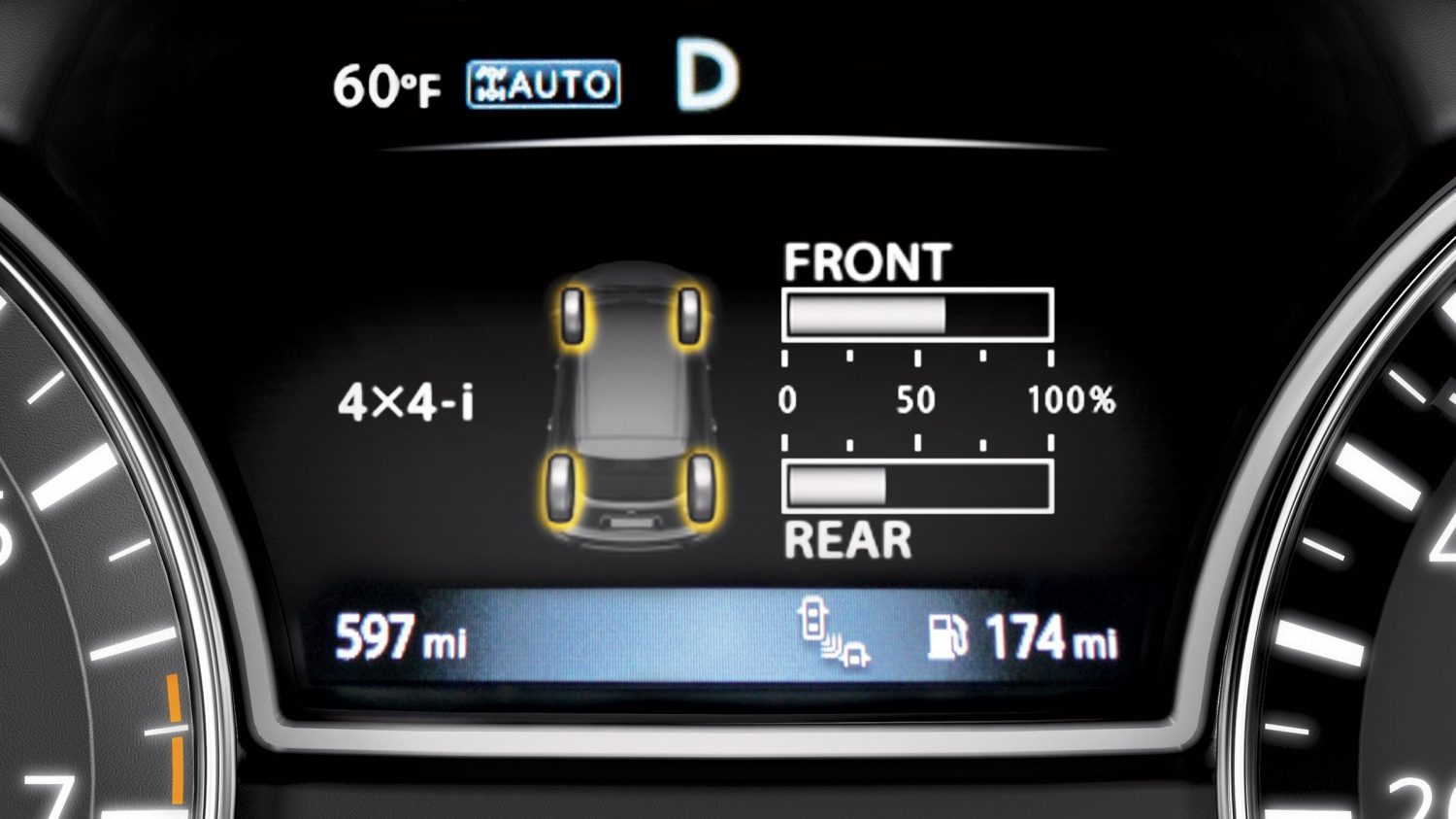 Pantalla Advanced Drive-Assist de Nissan Pathfinder