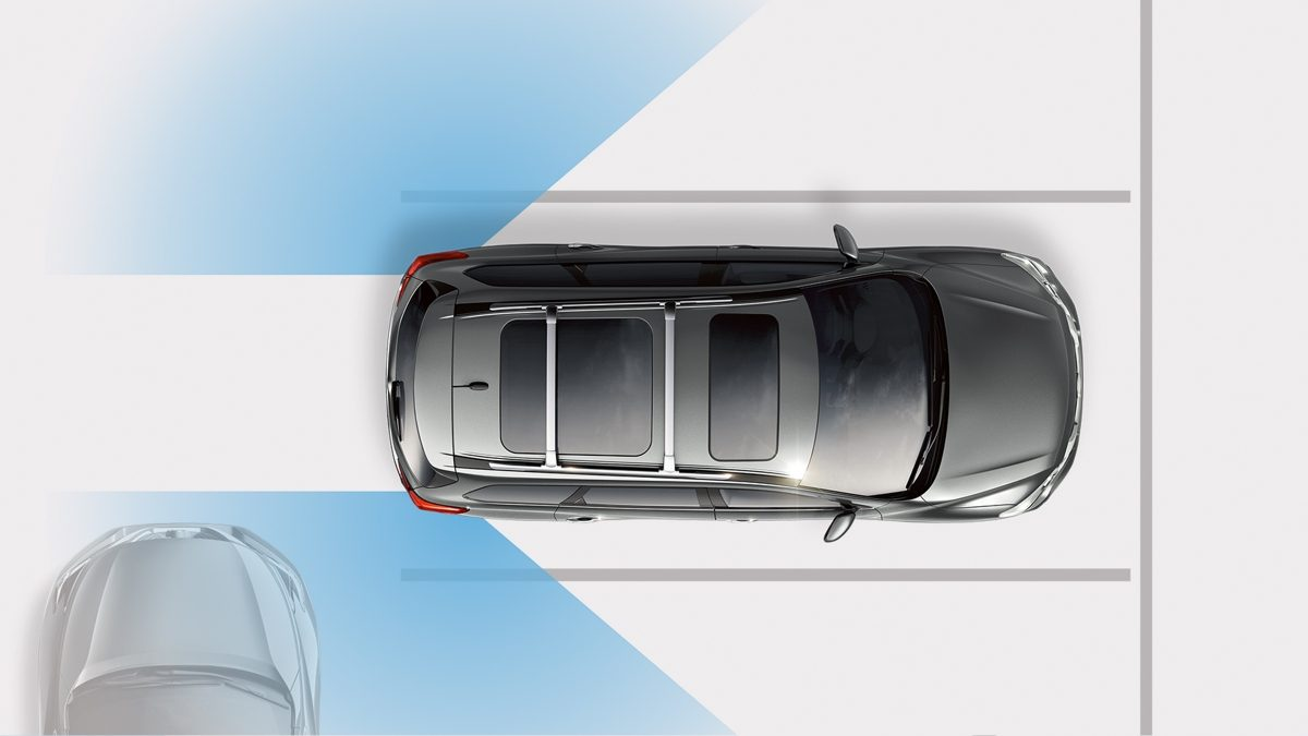 Nissan Pathfinder illustration of Forward Emergency Braking