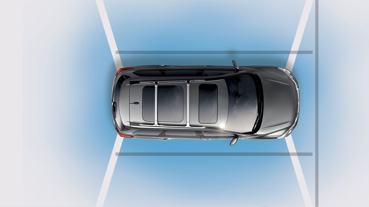 Nissan Pathfinder AROUND VIEW MONITOR WITH MOVING OBJECT DETECTION illustration