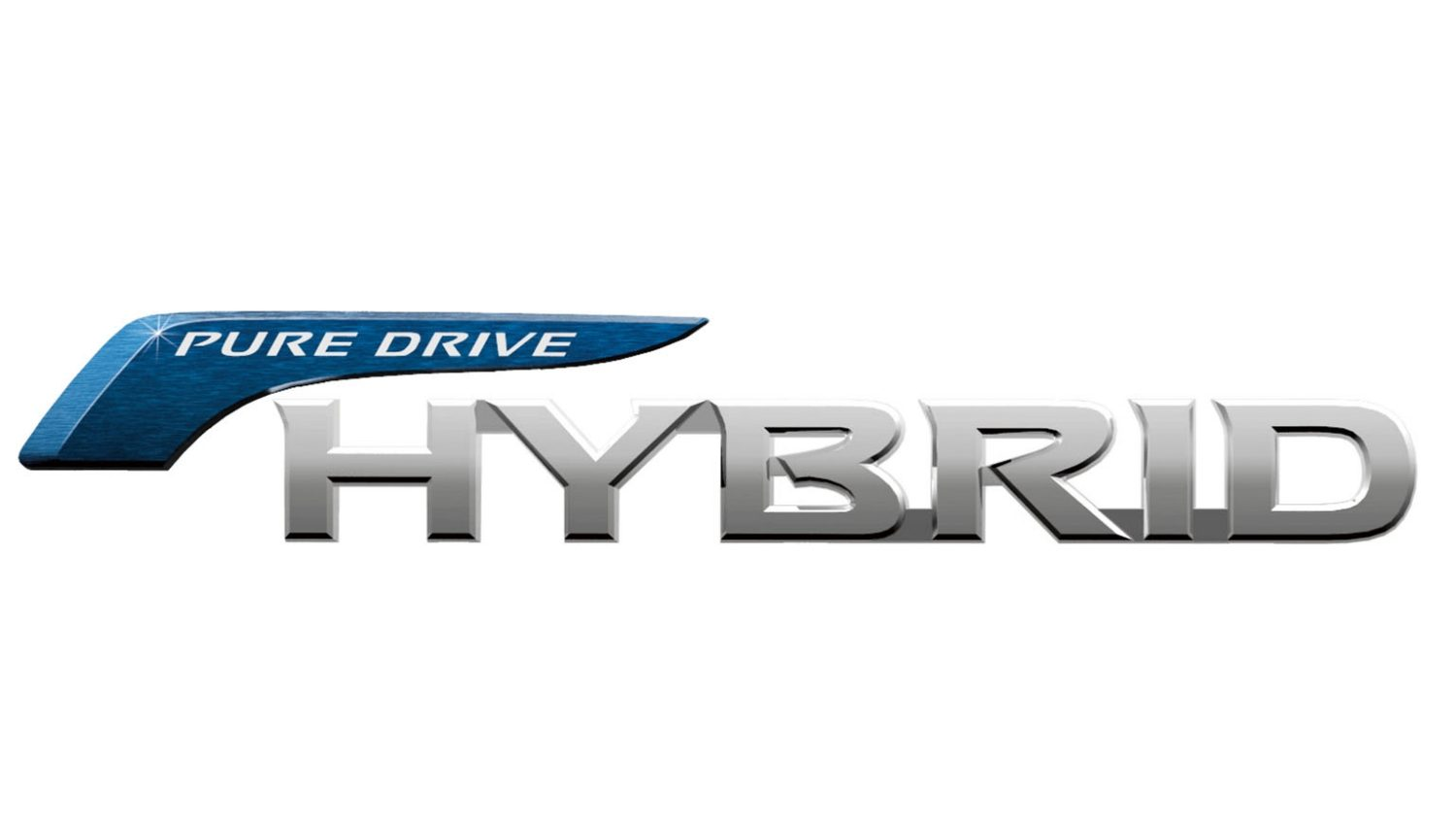 Pure Drive Hybrid Badge