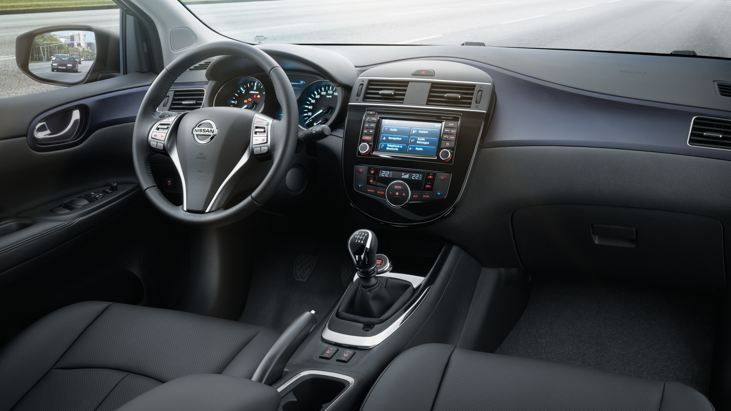 Design nissan pulsar berline compacte nissan for Force interieur