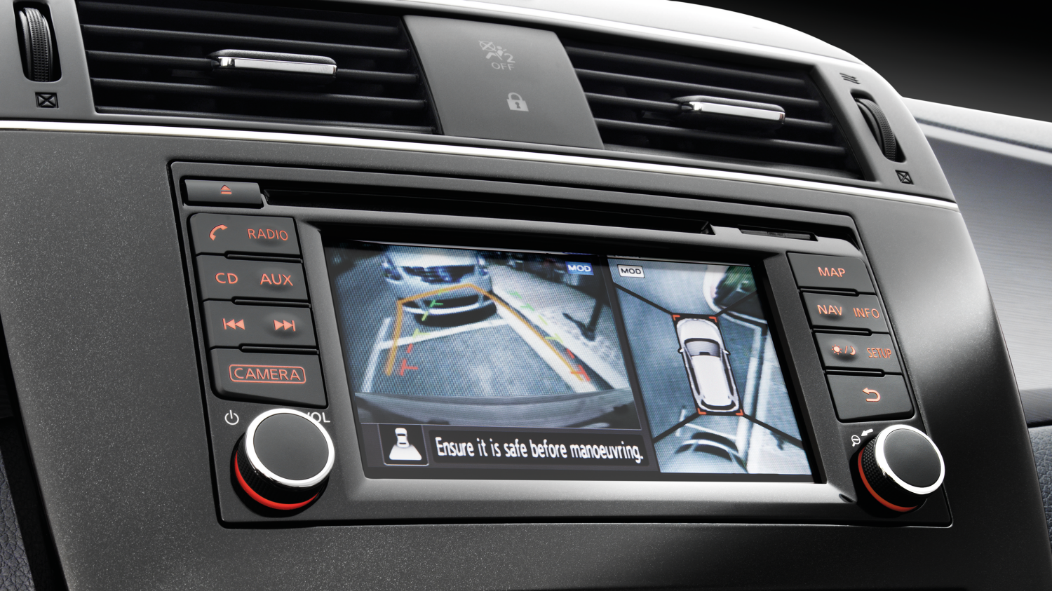 Nissan Pulsar – Hatchback | Around view monitor