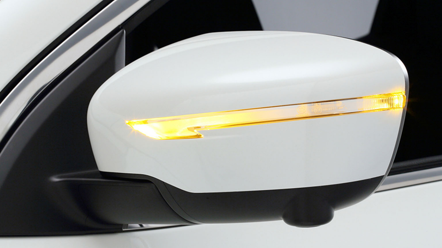 Small SUV design - Door mirror LED indicators | Nissan Qashqai