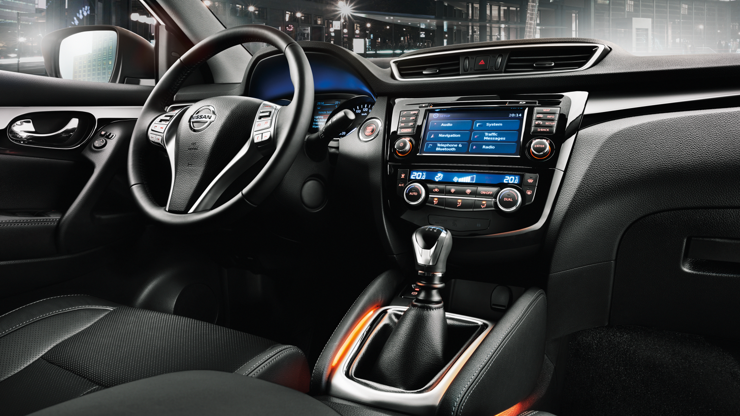 Nissan QASHQAI - Interieur design - Dashboard